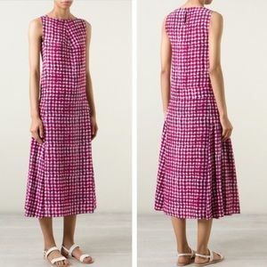 Tory Burch Sonda Silk Tie Dye Midi Dress